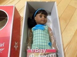 NEW in Box American Girl 18 MELODY Doll with Book Outfit Dark Skin Black Hair