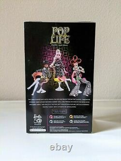 NRFB 2009 Pop Life Collector Barbie AA Black Doll Retro Style 50th Anniversary