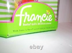 NRFB Barbie Cousin Francie African American Black AA Reproduction MODern Doll