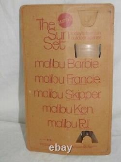 Nrfb 1970 Mattel The Sun Set African American Black Malibu Christie Doll #7745