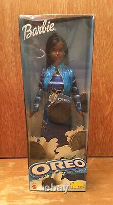 Official 2001 Black African American Oreo School Time Fun Barbie NIB NEW Rare