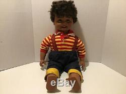 Playmates Corky Crickets Brother Rare Black African American Talking Doll 1986