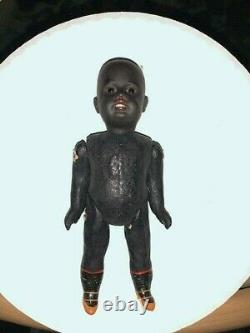 Precious Antique German Black Gebruder Kuhnlenz 7