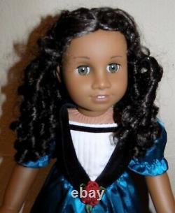 RARE American Girl Cecile African-American Black Doll w Accessories in Box EUC