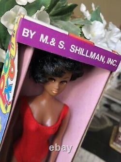 RARE Vintage Black Barbie-Clone Doll African American M & S Shillman Maxi Mod