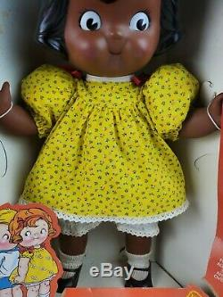 RARE Vintage Campbell Campbell's Soup Kids African American Black Doll Set withBox