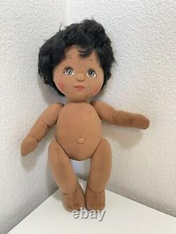 RARE Vintage Mattel MY CHILD Girl Doll AA / Black 1985