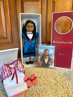 RETIRED American Girl, Cecile, New in Box, with book and sleepwear outfit. NRFB