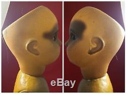 Rare 16 1/2 Inch Tete Jumeau Mulotto Brown Complexion