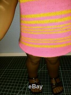 Rare AFRICAN AMERICAN, black, GIGGLES ALL ORIG BY IDEAL DOLL CORP 1967