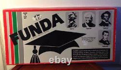 Rare FUNDA Black History/Studies Board-Game African American Boardgame1989 VTG