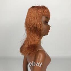 Rare Vintage 1967 Black Francie Barbie Doll Original AA African American As Is
