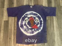 Rare Vintage 90s Black Empowerment African American MLK BLACK FIRST QUEEN Shirt