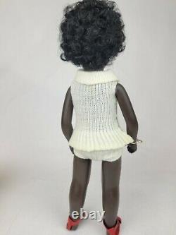 Rare Vintage Sasha Doll CORA, 16 Black Girl Doll, England Box & Tag 4-109