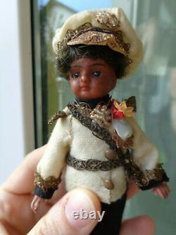 Rare antique mignonette doll with original clothes we reduced the price