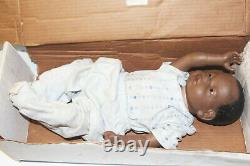 RealCare Baby II Plus Doll Boy Male Black African American Real Care with Box