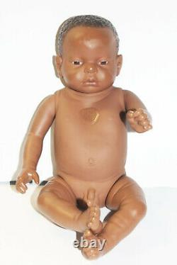 RealCare Baby Think It Over Doll Boy Male G6 Gen 6 Black African American withBox
