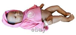 Real Care 3 Baby Think it Over Doll African American Black Girl Female
