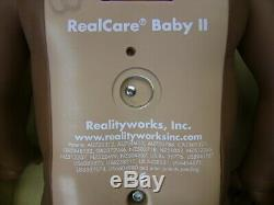 Reality Works Think It Over Realcare Baby 2 II Doll Black Girl African American