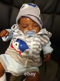 Reborn baby dolls boy black (ask about our layaway)