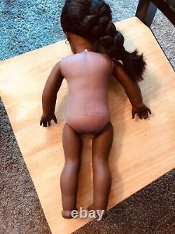 Retired Pleasant company American Girl 18 inch doll Addy