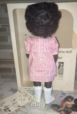 Sasha 109 CORA African American Black Girl Doll Made in England MINT IN BOX