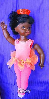 Super Rare Mattel Dancerina Doll African American Black Ballerina Record MIB 68