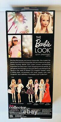 The Barbie Look City Shopper AA #X8257 NRFB 2012 Black Label African-American