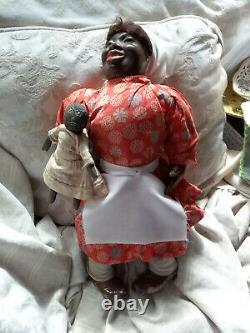 Tony Sarg African American Black Doll RARE c1930