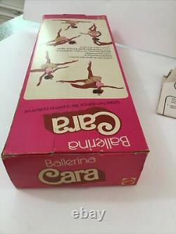 VINTAGE Ballerina Cara Black African American Barbie Doll 1975 Mattel