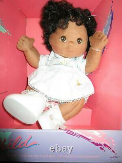 VTG MATTEL MY CHILD BLACK AFRICAN AMERICAN DOLL NEW in ORIG BOX UNUSED 1985 NRFB