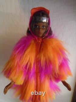 Vhtf! Wild Bunch Black Aa Repro Francie Doll Excellent Condition! Minty