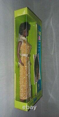 Vintage 1968 Talking Julia Barbie Diahann Carroll Doll (nrfb) Black Hair