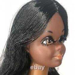 Vintage 1971 Live Action Christie Barbie Head AA Black African American As Is