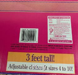 Vintage 1993 My Size Barbie Black African American 3 FEET Tall Doll NRFB NEW