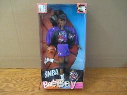 Vintage 1998 NBA Toronto Raptors Barbie Doll African American Black Rare Canada