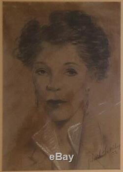 Vintage African American Black Artist Charleston Wilson Manhattan Ny Fine Art IL