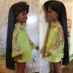 Vintage African American Black Crissy Doll