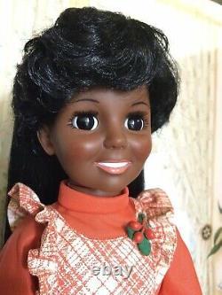 Vintage African American Black Crissy Doll Hair Grows