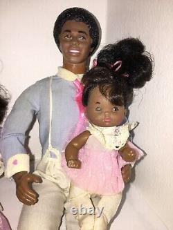 Vintage Barbie Heart Family African American (Black) 1984/1985