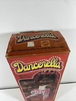 Vintage Dancerella African American Black Doll 1978 Mattel Brand New In Box
