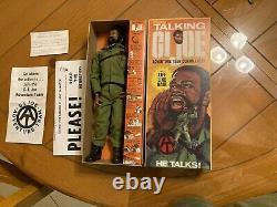 Vintage Gi Joe Talking African American Black Talking Commander Talker Negro