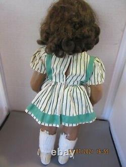 Vintage Hard Plastic Terry Lee Bonnie Lou Black African American Doll 16