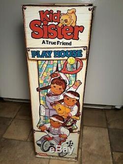 Vintage Hasbro Playskool 1980s My Buddy Kid Sister Black African American Doll