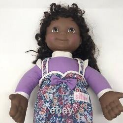 Vintage Hasbro Playskool My Buddy Kid Sister Black African American Dolls