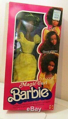 Vintage Magic Curl Barbie 1981 Black African American Nrfb