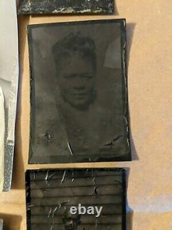 Vintage Photo, African American Black LOT of 34 Photos with tintypes