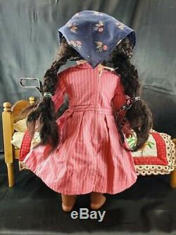 Vtg American Girl ADDY WALKER Old Pleasant Company 18 Black Doll Retired BUNDLE