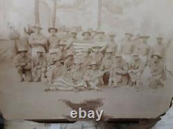 WWI 1918 African American photo Black History +3 RPPC Harlem Hellfighter 369Rgt