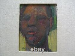 William Dorsey Painting Portrait Black Americana Impressionist African American